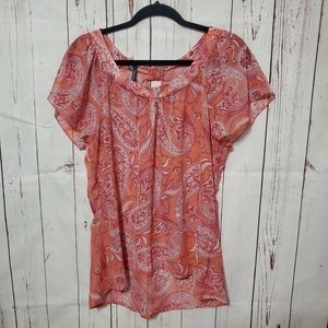 Maurice's Large Sheer Top